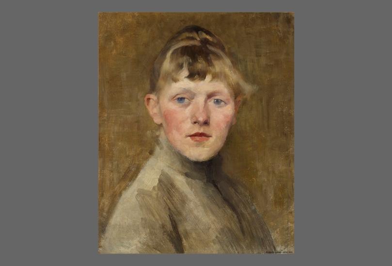 Helene Schjerfbeck, Self-Portrait, 1884-1885. Ateneum Art Museum. Photo: Finnish National Gallery / Henri Tuomi.