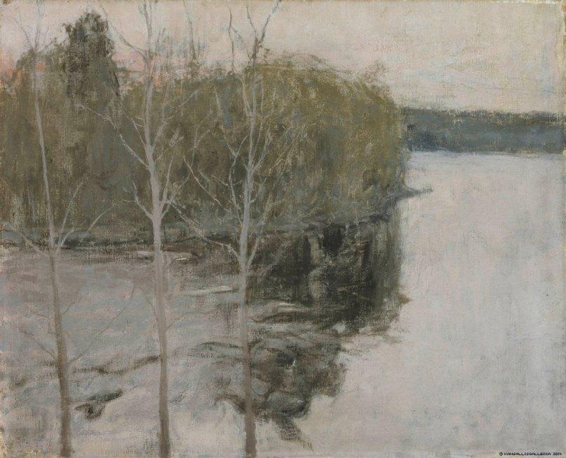 Ellen Thesleff, Spring Night, 1894. Ateneum Art Museum. Photo: Finnish National Gallery / Jukka Romu.
