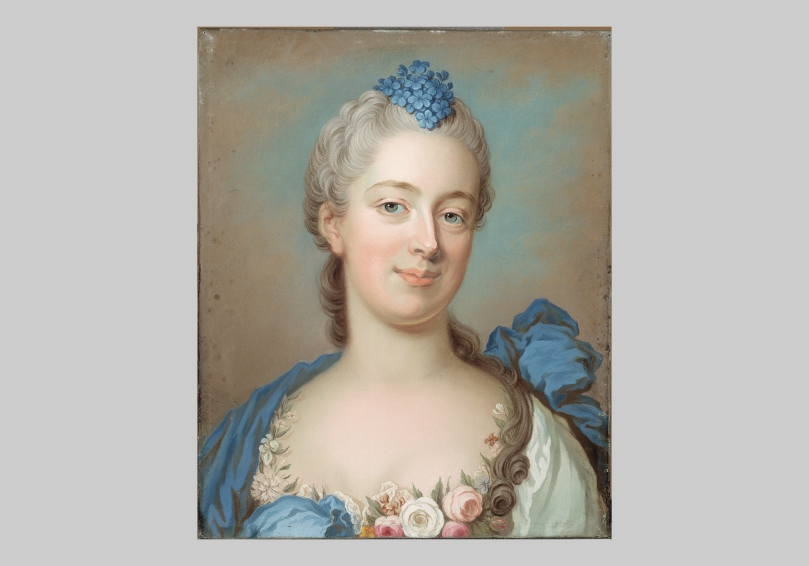 Gustaf Lundberg, Countess Poaton (date unknown). Sinebrychoff Art Museum. Photo: Finnish National Gallery / Hannu Aaltonen