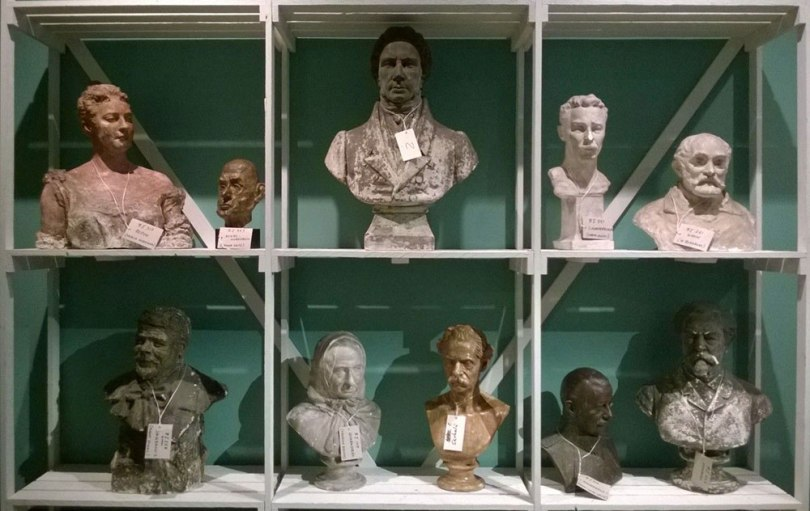 Nineteenth and 20thcentury plaster portraits from the Finnish National Gallery Collections displayed in the exhibition 'I am not I – Famous and Forgotten Portraits' at the Sinebrychoff Art Museum, Helsinki, in 2017 Photo: Finnish National Gallery / Riitta Ojanperä Issue No. 4/2018