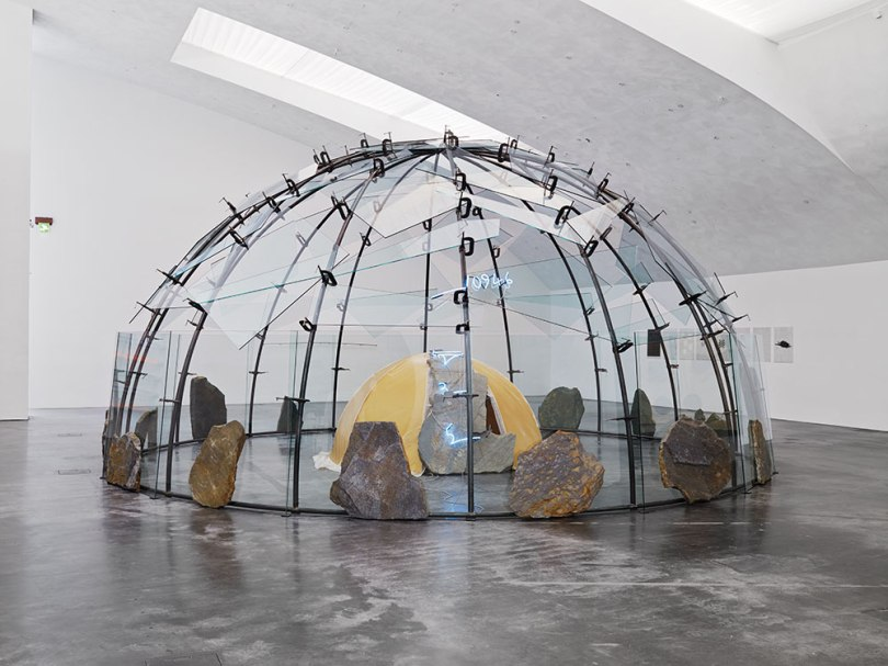 Mario Merz, Untitled (Igloo), 1989, wax, rock, neon, glass, metal, diameter 823cm The Kouri Collection, Finnish National Gallery / Museum of Contemporary Art Kiasma Photo: Finnish National Gallery / Pirje Mykkänen