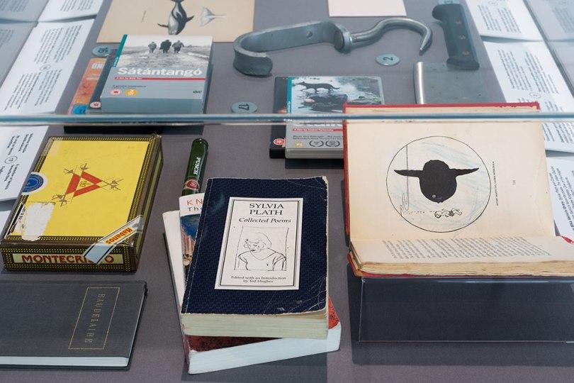 Items from Mika Vainio's studio in Oslo, selected by Rikke Lundgreen. 'Mika Vainio: 50 Hz', Museum of Contemporary Art Kiasma, Helsinki, 2020 Photo: Finnish National Gallery / Pirje Mykkänen