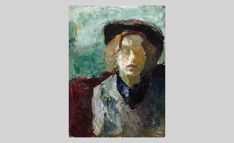 Elga Sesemann, Self-Portrait, 1945, oil on canvas, 73cm x 54cm, Finnish National Gallery / Ateneum Art Museum Photo: Finnish National Gallery / Janne Tuominen